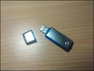 USB prisluskivac 192kbps - izgled prisluskivaca