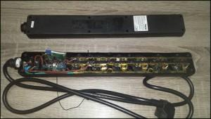 prisluskivacu produznom kablu - izgled unutra