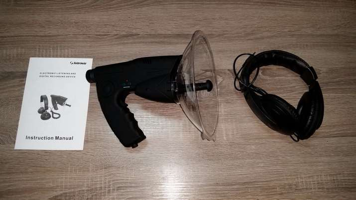 parabolicki mikrofon - prisluskivaci