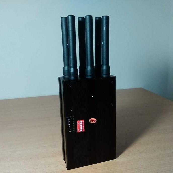Blokator signala 6 antena crni - blokatori signala - prisluskivaci